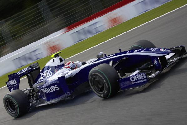 Kazuki Nakajima, Williams FW31 Toyota.