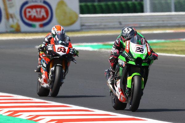 Alex Lowes, Kawasaki Racing Team WorldSBK, Tito Rabat, Barni Racing Team.