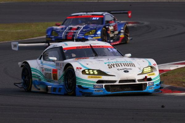 GT300 Winner Hiroki Yoshimoto & Shunsuke Kohno, SYNTIUM LMcorsa Toyota GR Supra GT