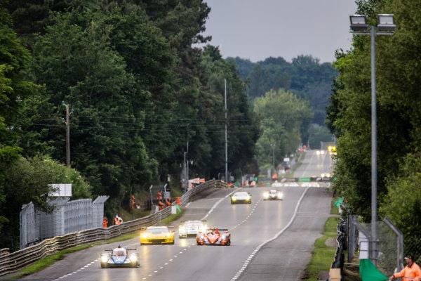 Start: #35 Baxi DC Racing Alpine A460 Nissan: David Cheng, Ho-Pin Tung, Nelson Panciatici