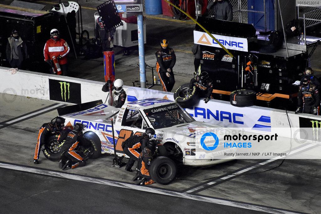 #24: Raphael Lessard, GMS Racing, Chevrolet Silverado CANAC