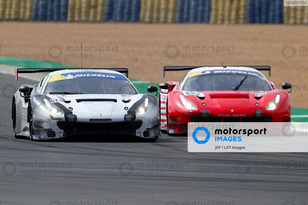 #8 Ferrari 488 GT3 / IRON LYNX / Giacomo Piccini / Rino Mastronardi