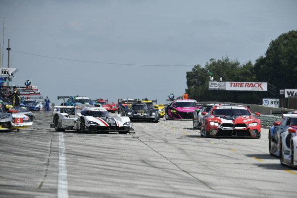 #25 BMW Team RLL BMW M8 GTE, GTLM: Connor De Phillippi, Bruno Spengler, #77 Mazda Team Joest Mazda DPi, DPi: Oliver Jarvis, Tristan Nunez
