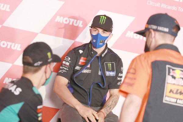 Fabio Quartararo, Petronas Yamaha SRT Maverick Vinales, Yamaha Factory Racing, Pol Espargaro, Red Bull KTM Factory Racing .
