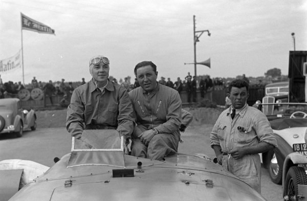 Jean-Pierre Wimille and Pierre Veyron.