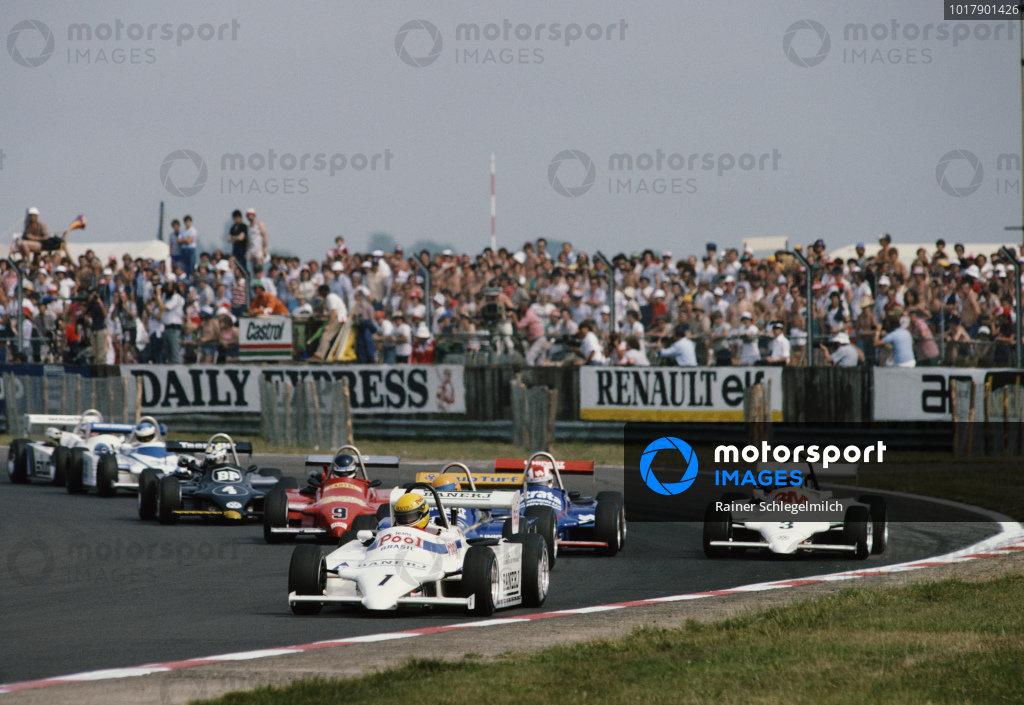 Ayrton Senna, West Surrey Racing, Ralt RT3/83 Toyota/Novamotor.