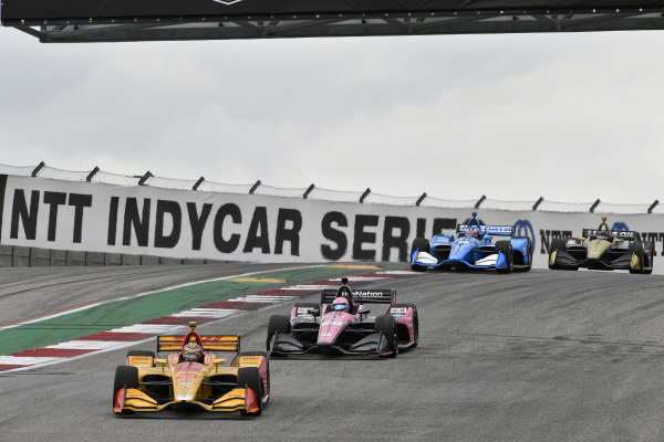 Ryan Hunter-Reay, Andretti Autosport Honda, Jack Harvey, Meyer Shank Racing with Arrow SPM Honda