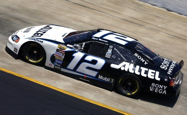03/26/04 NASCAR Nextel Cup Series.Round 6 of 36. Food City 500. Pole sitter Ryan Newman. Bristol, Tennessee, USA.