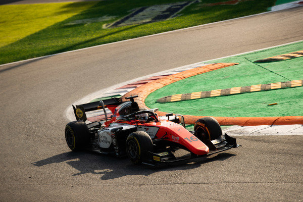 AUTODROMO NAZIONALE MONZA, ITALY - SEPTEMBER 07: Jordan King (GBR, MP MOTORSPORT) during the Monza at Autodromo Nazionale Monza on September 07, 2019 in Autodromo Nazionale Monza, Italy. (Photo by Joe Portlock / LAT Images / FIA F2 Championship)