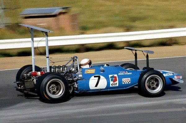 Winner, Jackie Stewart(GBR) Matra MS10 South African GP, Kyalami, 1 March 1969 BEST IMAGE