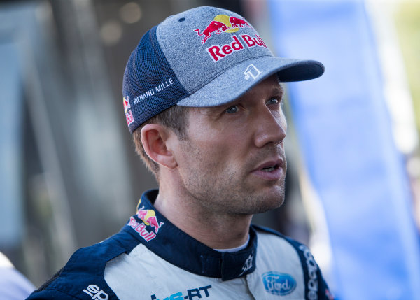 2017 FIA World Rally Championship, Round 11, Rally RACC Catalunya / Rally de España, 5-8 October, 2017, Sebastien Ogier, Ford, portrait, Worldwide Copyright: LAT/McKlein