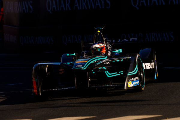 Circuit de Catalunya, Barcelona, Spain. Saturday 20 May 2017. Mitch Evans (NZL), Jaguar Racing, Spark-Jaguar, Jaguar I-Type 1. World Copyright: Steven Tee/LAT Images ref: Digital Image _R3I2942