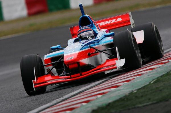 2007 Formula Nippon ChampionshipSuzuka Circuit, Japan17th - 18th November 2007Tony Kanaan (Kanaan Racing). 6th position. Action.World Copyright: Yasushi Ishihara/LAT Photographicref: Digital Image 2007FN_R9_023