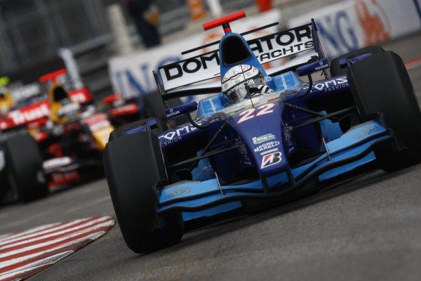 2008 GP2 Series. Round 3. Saturday Race. Monte-Carlo, Monaco. 24th May 2008.Andreas Zuber (UAE, Piquet Sports). Action. World Copyright: Andrew Ferraro/GP2 Series Media Service.ref:__H0Y6306 jpg