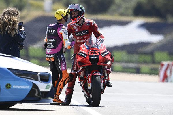 Francesco Bagnaia, Ducati Team, Andrea Migno.