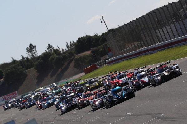 Start of the race - #29  Oreca 07 - Gibson / DUQUEINE ENGINEERING / Pierre Ragues / Nicolas Jamin / Nelson Panciatici leads the race