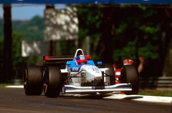 Imola, Italy.3-5 May 1996.Ukyo Katayama (Tyrrell 024 Yamaha) was in sixth position until his transmision broke on lap 46.Ref-96 SM 19.World Copyright - LAT Photographic
