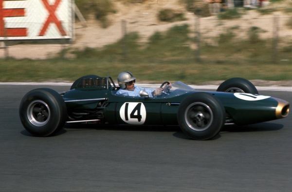 Jack Brabham (AUS) Brabham BT7 Netherlands Grand Prix, Zandvoort, Holland, 24 May 1964.