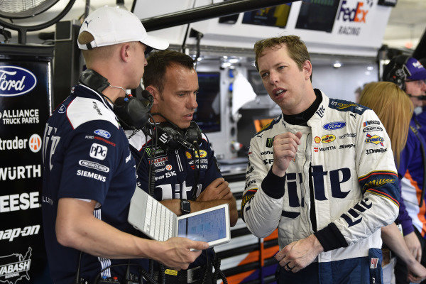 #2: Brad Keselowski, Team Penske, Ford Mustang Miller Lite and Paul Wolfe