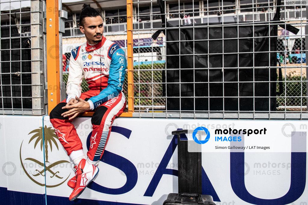 Pascal Wehrlein (DEU), Mahindra Racing on the grid