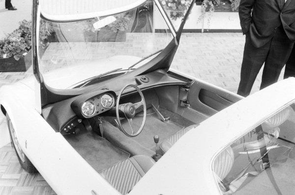 Pininfarina Abarth-Fiat OT1000 Coupe (one-off) interior