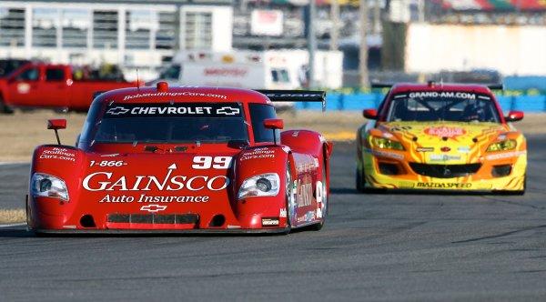 27-30 January, 2011, Daytona Beach, Florida, USAThe #99 Chevrolet Riley of Alex Gurney, Jon Fogarty and Jimmie Johnson in action during practice.©2011, R D. EthanLAT Photo USA