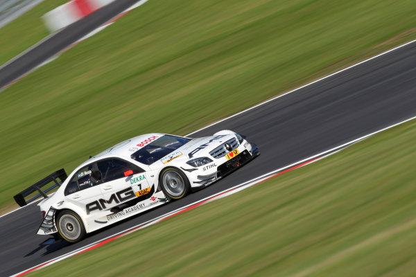 Paul Di Resta (GBR), AMG Mercedes, AMG Mercedes C-Klasse (2009).DTM, Rd7, Brands Hatch, England, 3-5 September 2010.World Copyright: LAT Photographicref: dne1004se56