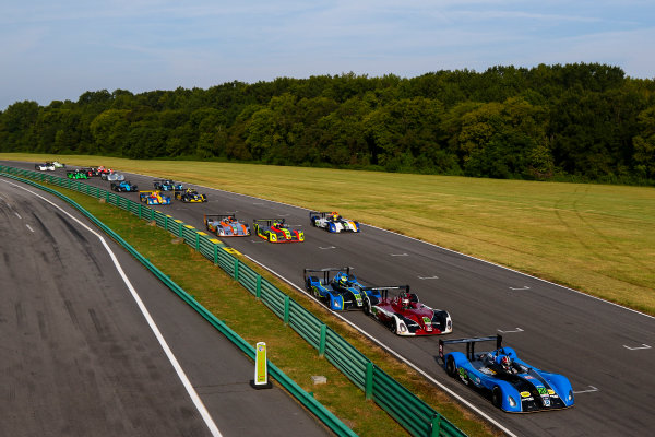 28-29 August 2015, Alton, Virginia USA IMSA Lites, Race 1, Start ?2015, Jake Galstad LAT Photo USA
