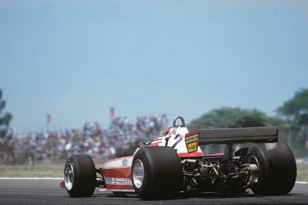 Buenos Aires, Argentina. 19 - 21 January 1979.Gilles Villeneuve (Ferrari 312T3) 12th position, action. World Copyright: LAT Photographic.Ref: 79ARG32