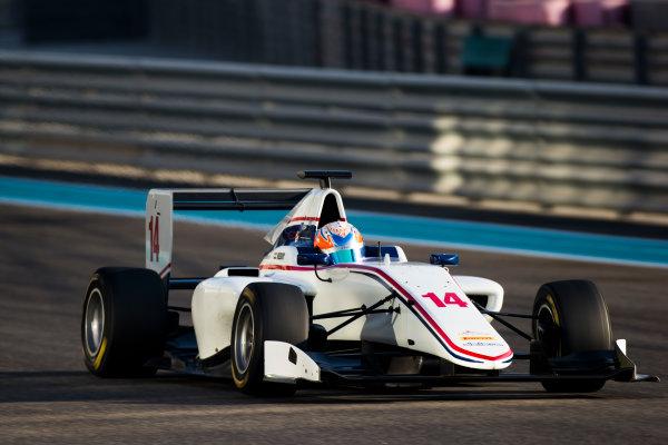 2016 GP3 Series Test 5. Yas Marina Circuit, Abu Dhabi, United Arab Emirates. Friday 2 December 2016. Tarun Reddy (IND, Koiranen GP)  Photo: Sam Bloxham/GP3 Series Media Service. ref: Digital Image _SLB3769
