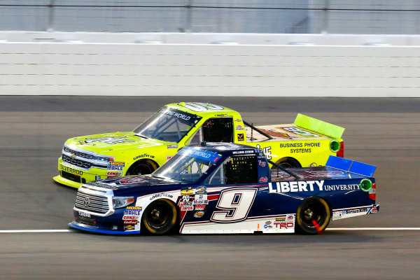 1 October, 2016, Las Vegas, Nevada USA William Byron and John Wes Townley ?2016, Russell LaBounty LAT Photo USA