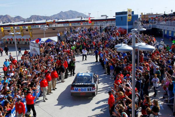 9-11 March, 2012, Las Vegas, Nevada USATony Stewart  drives to victory lane(c)2012, LAT SouthLAT Photo USA
