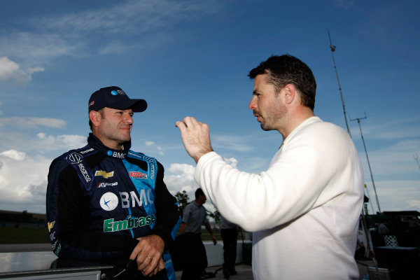 5-9 March, 2012, Sebring, Florida, USARubens Barrichello and Oriol Servia(c)2012, Michael L. LevittLAT Photo USA