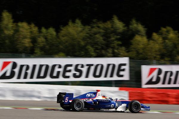 Spa-Francorchamps, Spa, Belgium. 30th August 2009.Sunday Race.Roldan Rodriguez (ESP, Piquet GP). Action.  World Copyright: Glenn Dunbar / GP2 Series Media Service.Ref: _3GD9276 jpg
