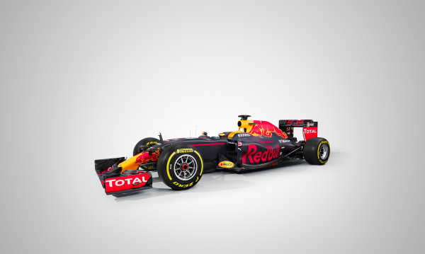 Red Bull Racing RB12 Studio Images. Milton Keynes, UK. Saturday 20 February 2016. The Red Bull RB12. Photo: Red Bull Content Pool (Copyright Free FOR EDITORIAL USE ONLY) ref: Digital Image 20160220_REDBULL_RB12_03