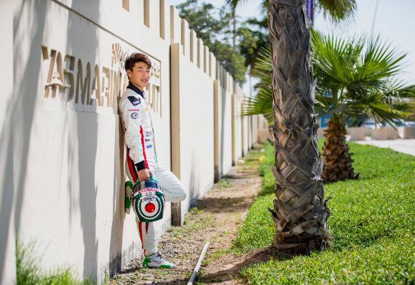 2017 GP3 Series Round 8.  Yas Marina Circuit, Abu Dhabi, United Arab Emirates. Thursday 23 November 2017. Nirei Fukuzumi (JPN, ART Grand Prix). Photo: Zak Mauger/GP3 Series Media Service. ref: Digital Image _X0W7545