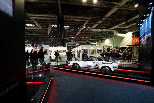 Autosport International Exhibition. National Exhibition Centre, Birmingham, UK. Sunday 14th January 2018. The Pirelli stand.World Copyright: Ashleigh Hartwell/LAT Images Ref: _O3I9596