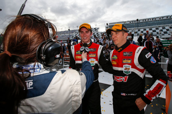 IMSA Continental Tire SportsCar Challenge BMW Endurance Challenge at Daytona Daytona Beach, Florida, USA Friday 26 January 2018 #28 RS1, Porsche Cayman GT4 MR, GS: Dillon Machavern, Spencer Pumpelly World Copyright: Jake Galstad LAT Images  ref: Digital Image galstad-DIS-ROLEX-0118-301069