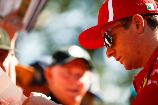 Kimi Raikkonen, Ferrari.