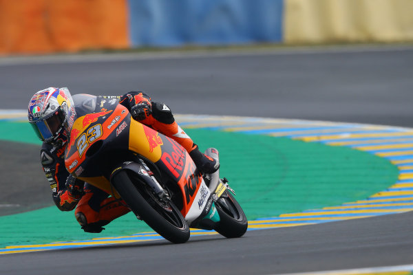 2017 Moto3 Championship - Round 5 Le Mans, France Saturday 20 May 2017 Niccolo Antonelli, Red Bull KTM Ajo World Copyright: Gold & Goose Photography/LAT Images ref: Digital Image 671087