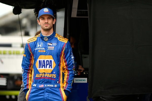 Verizon IndyCar Series IndyCar Grand Prix Indianapolis Motor Speedway, Indianapolis, IN USA Friday 12 May 2017 Alexander Rossi, Andretti Herta Autosport with Curb-Agajanian Honda World Copyright: Scott R LePage LAT Images ref: Digital Image lepage-170512-indy-0154