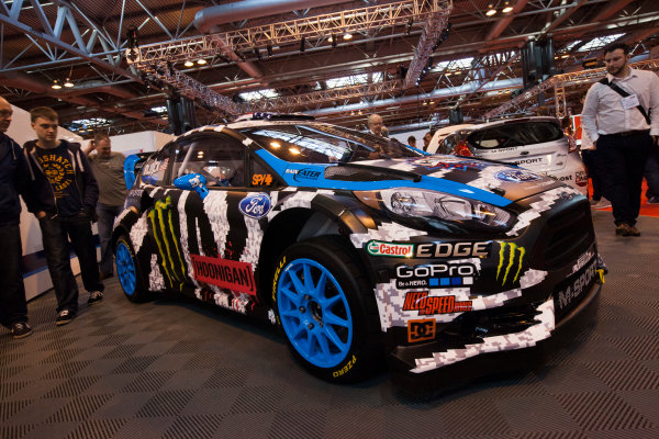 Autosport International Exhibition. National Exhibition Centre, Birmingham, UK. Friday 9 January 2015. Ford on the M-Sport stand. World Copyright: Edd Hartley/Jakob Ebrey/LAT Photographic. ref: Digital Image _MG_1627