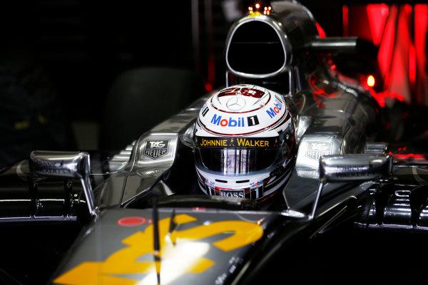 Interlagos, Sao Paulo, Brazil. Saturday 8 November 2014. Kevin Magnussen, McLaren. World Copyright: Steven Tee/LAT Photographic. ref: Digital Image _L4R1530