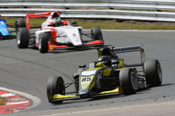 2016 BRDC F3 Championship  Oulton Park, Cheshire, 28th-30th May 2016, Enzo Bortoleto (BRA) Double R Racing BRDC F3  World Copyright.Ebrey/LAT Photographic