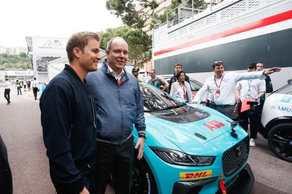 Nico Rosberg, Formula E investor and Albert II, Prince of Monaco