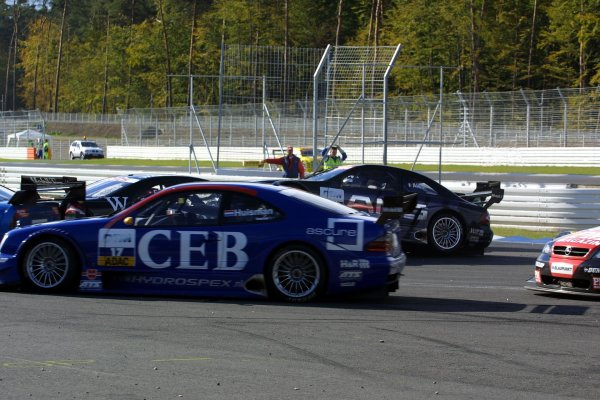 2002 DTM Championship - Hockenheim, Germany. Oct 05 - 06 World Copyright: Andre Irlmeier/LAT Photographic