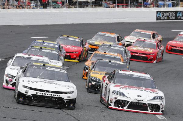 #20: Harrison Burton, Joe Gibbs Racing, Toyota Supra DEX Imaging, #16: A.J. Allmendinger, Kaulig Racing, Chevrolet Camaro Hyperice
