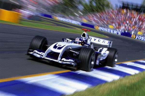 Juan Pablo Montoya, Williams FW26 BMW.
