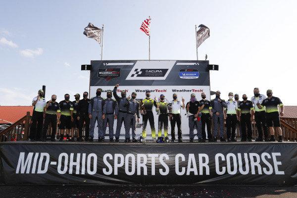 #14 AIM Vasser Sullivan Lexus RC-F GT3, GTD: Jack Hawksworth, Aaron Telitz, team
