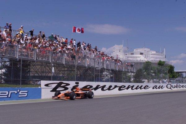 2000 Canadian Grand Prix.Montreal, Quebec, Canada.16-18 June 2000.Pedro de la Rosa (Arrows A21 Supertec).World Copyright - LAT Photographic